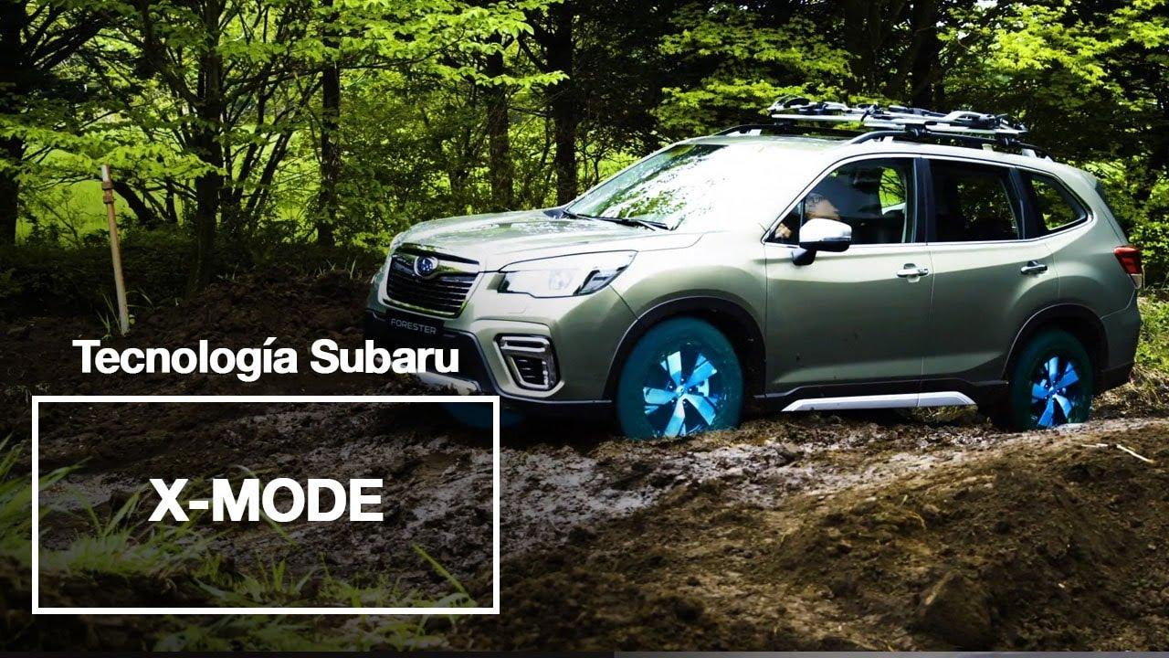 Tecnología Subaru | Explora nuevos territorios con el sistema X-Mode