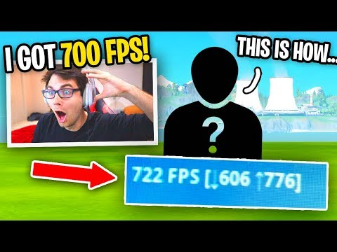 How I Get 700 FPS In Fortnite *SECRET*... (Worked With Tfue, Mongraal, Benjyfishy, And MORE)