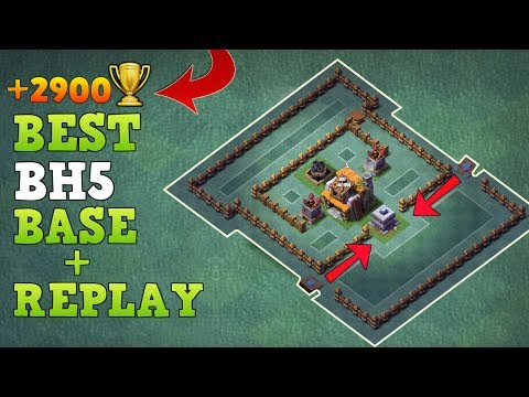 Builder Hall 5 Base w/ Proof After NEW ROASTER, NIGHT WITCH UPDATE | COC BH5 Base | Clash of Clans