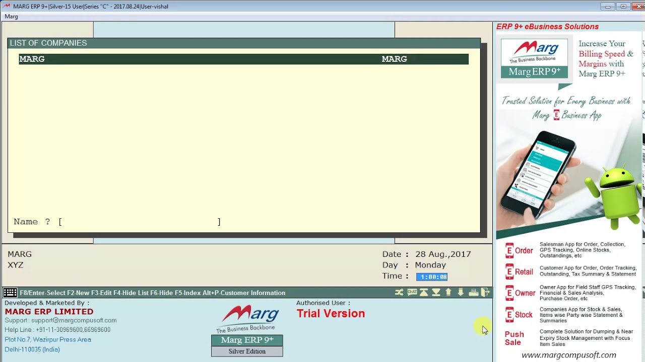 How to create a company in marg software hindi youtube how to create a company in marg software hindi ccuart Choice Image