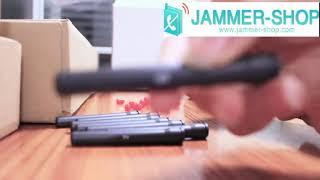 Portable high power jammer 3G 4G  UHF VHF LoJack wifi Gps jmamer