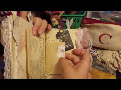 junk journal for Alexandria garcia