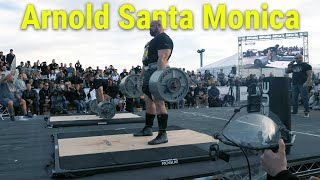 ARNOLD SANTA MONICA COMPETITION AND RECAP!