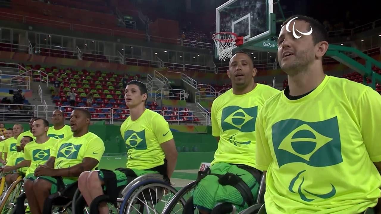 wheelchair basketball australia v brazil men s 5 6 place game