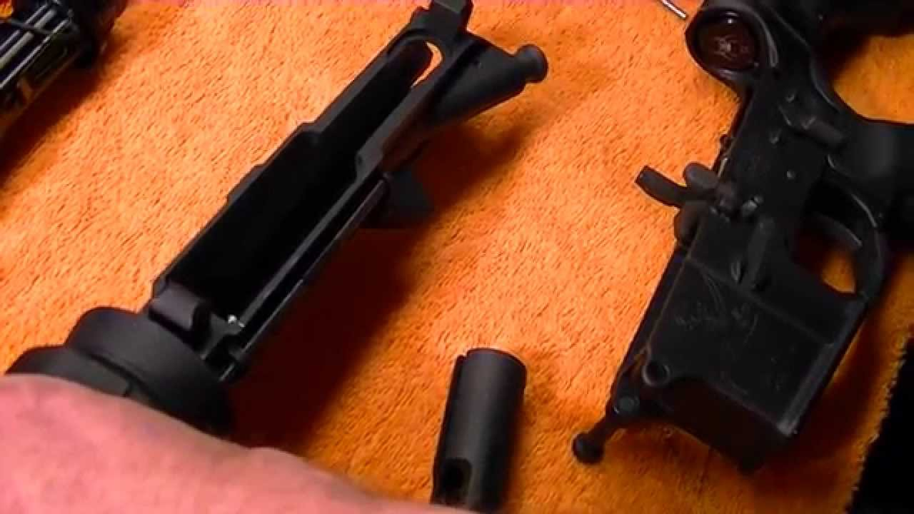 AR 15 Bolt Carrier Group Install & Mating Upper Receiver to Lower