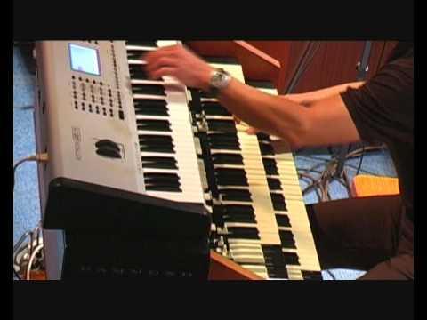 Klaus Wunderlich Medley Beguine auf der HX 100 gespielt von Konr