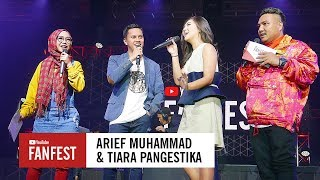 Arief Muhammad & Tiara Pangestika @ YouTube FanFest Indonesia 2017