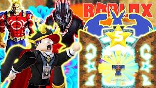Roblox - BẤT NGỜ MỞ ĐƯỢC NHÂN VẬT ANIME 5 SAO SIÊU MẠNH ANH HÙNG ALL MIGHT - All Star Tower Defense