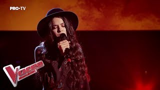 Emanuela Gherasim - I See Fire | Blind Auditions | The Voice of Romania 2019