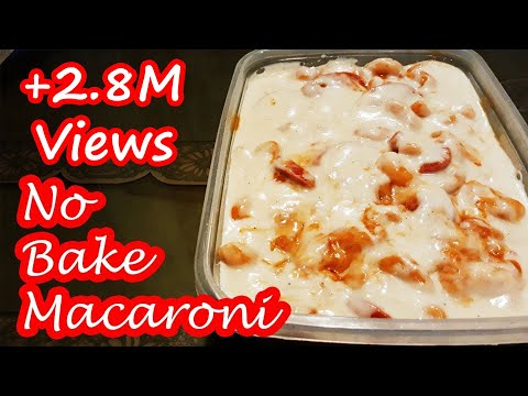NO BAKE MACARONI WITH WHITE SAUCE!!!