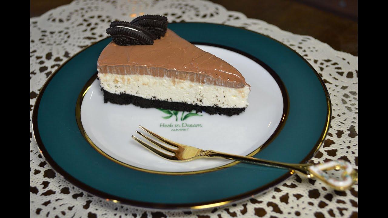 cheesecake de oreo com nutella o acidente daisuki. Black Bedroom Furniture Sets. Home Design Ideas