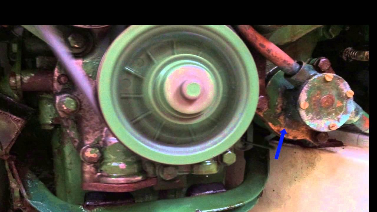 Volvo 2003 diesel marine engine water pump leak