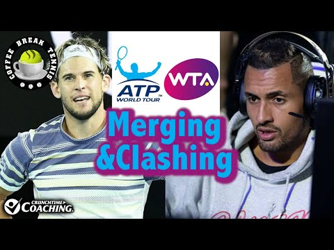 Kyrgios Streams COD/Thiem Keeps His $/ATP-WTA Merger Talk | Coffee Break Tennis