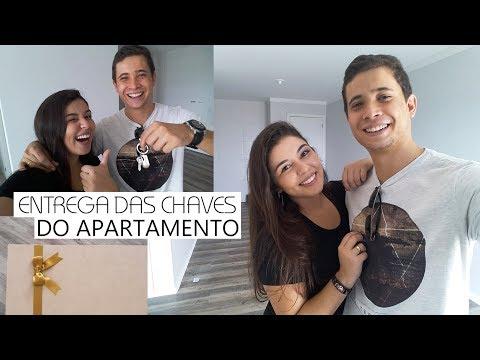 Entrega das chaves do nosso Apartamento + 2ª vistoria   Suian e Fernando