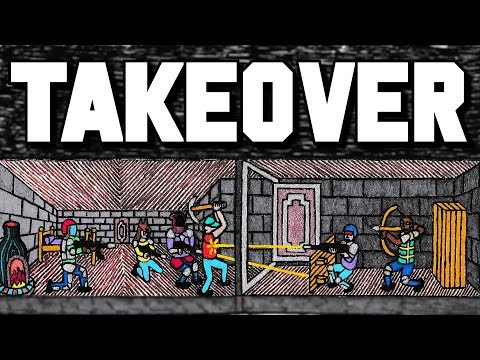 TAKING OVER A CLAN COMPOUND - Rust (Part 1/2)