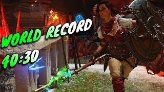 GOD TIER WORLD RECORD RUN - Ancient Evil Solo Easter Egg Speedrun