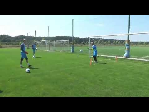 Hapoel Haifa FC Training Camp - GK Session With Pini Avraham