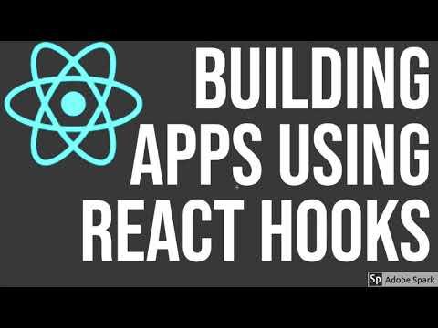 React JS Building App using Hooks Part 1
