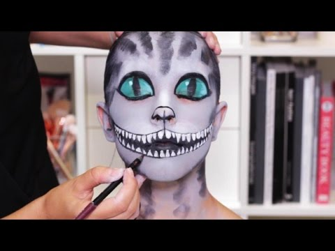 Cheshire Cat Halloween Makeup Tutorial | Real Techniques - YouTube