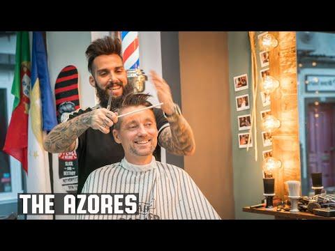 💈Executive Contour Haircut At The Barbershop By João Rocha In Ponta Delgada, Azores