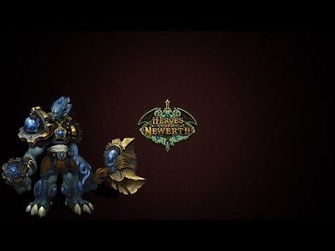 видео: heroes of newerth - обзор героя flint beastwood