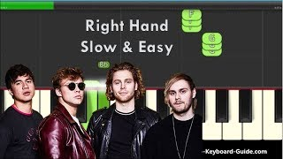 How to Play Youngblood by 5 Seconds Of Summer on Piano (Right Hand)