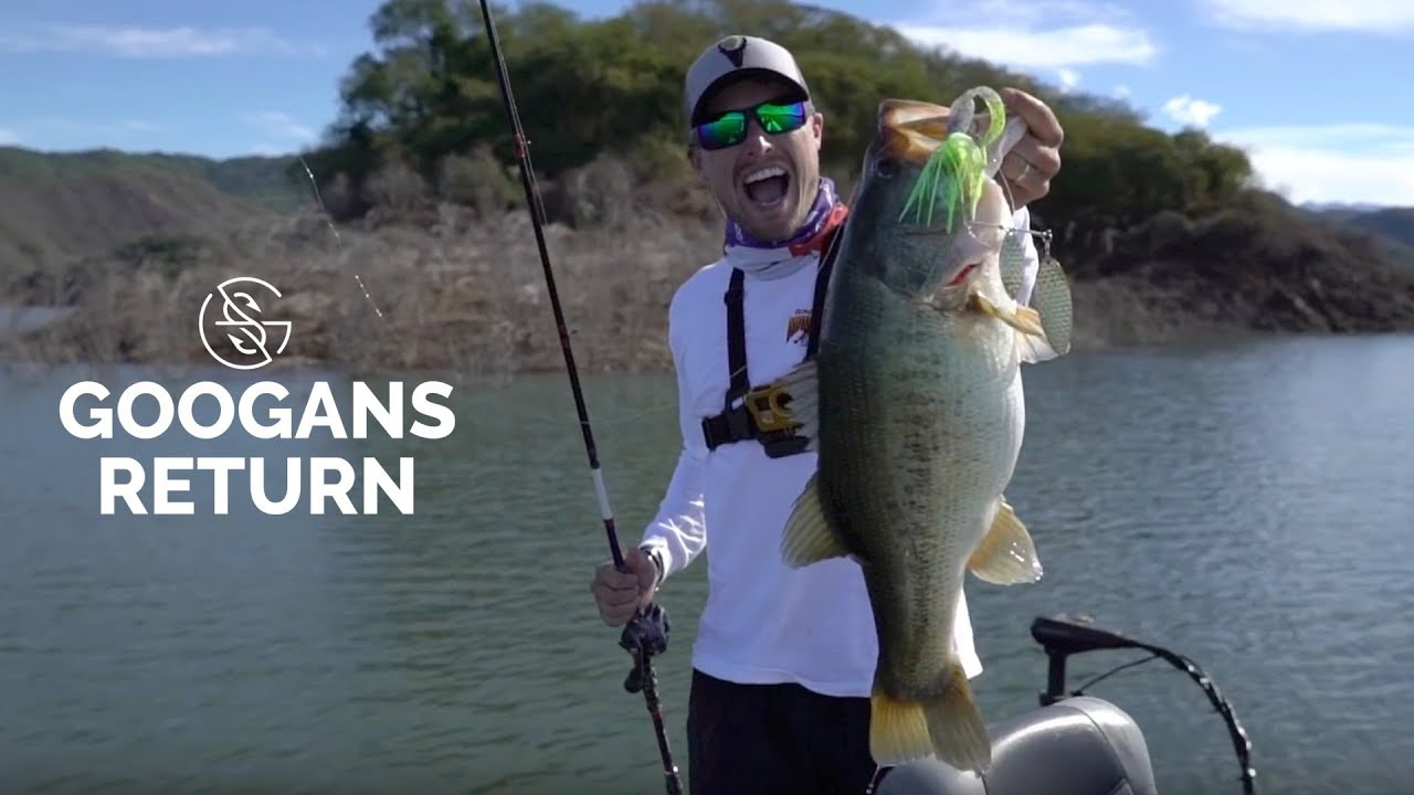Googans head to BEST BASS LAKE IN THE WORLD - YouTube