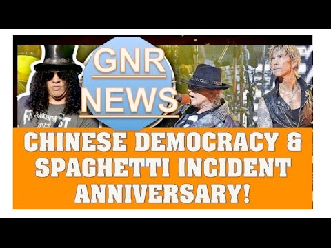 Guns N' Roses News: Anniversary of Chinese Democracy & The Spaghetti Incident!