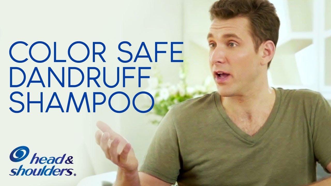 Head Shoulders Is A Color Safe Dandruff Shampoo Youtube