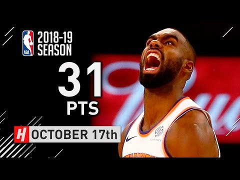 Tim Hardaway Jr. Full Highlights Knicks vs Hawks 2018.10.17 - 31 Points, SICK!