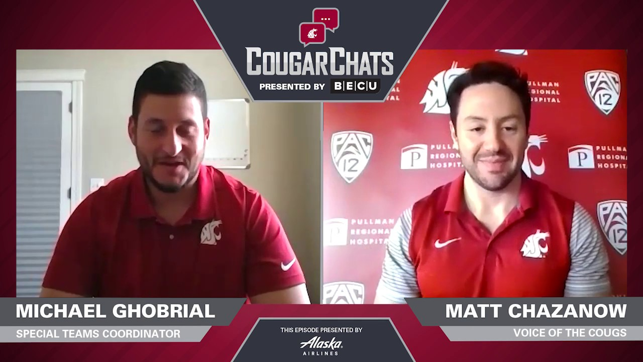 Image for WSU Athletics: Cougar Chats with Coach Michael Ghobrial webinar
