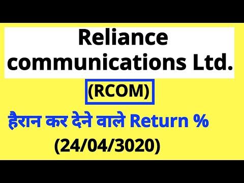 Reliance Communications Ltd (RCOM) हैरान कर देने वाले Return %..