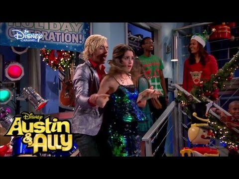 "Austin y Ally  -  Ross Lynch And Laura Marano ""Perfect Chrismas"""