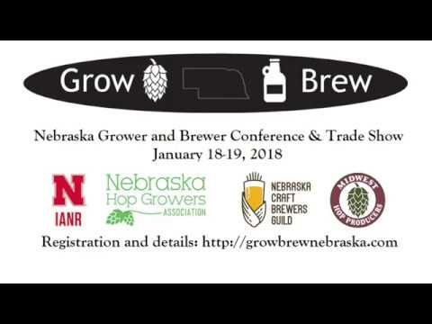 Nebraska Grower and Brewer Conference 2018 Promo