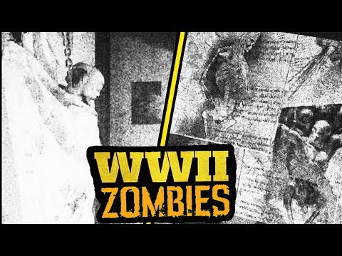 *NEW* COD WW2 ZOMBIES TEASER TRAILER FROM SECRET PACKAGE!! (