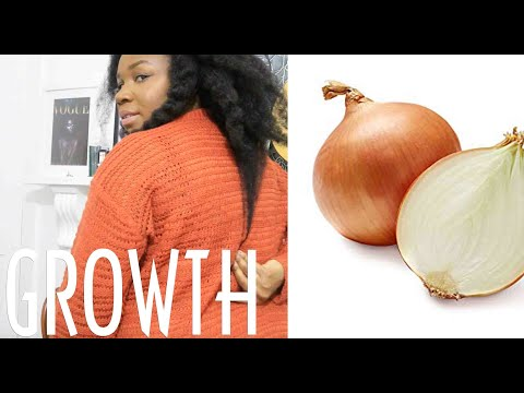 HOW TO: Best (UPDATED) ONION JUICE for natural hair growth | HAIR CARE
