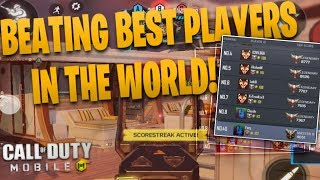 DESTROYING #1 PLAYERS IN COD MOBILE! Legendary League Call Of Duty: Mobile