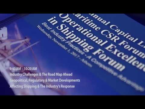 2017 7th Annual Operational Excellence in Shipping - Industry Challenges & The Road Map Ahead