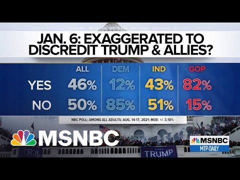 NBC Jan. 6 Poll Shows 'How Successfully Trump' Has Rewritten Narrative