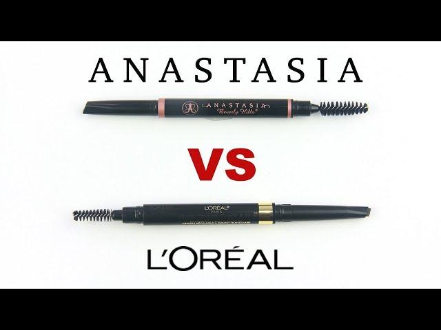 Anastasia Brow Definer VS Loreal Shape and Fill