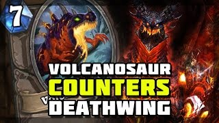 Hearthstone - Volcanosaur Counters Deathwing?