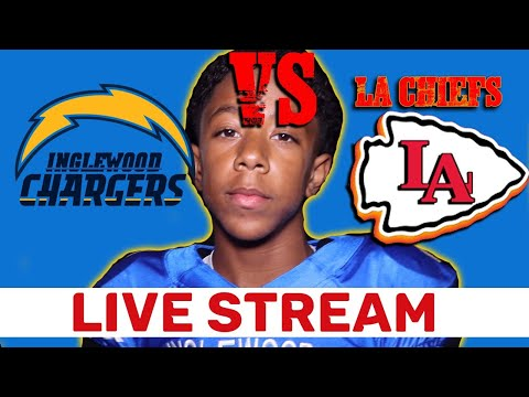 Live Stream | Inglewood Chargers Vs LA Chiefs | Snoop Youth Football League