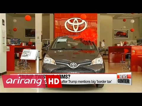 Toyota reveals plan to invest $10 bil. in the U.S. over next five yrs after Trump mentions big...
