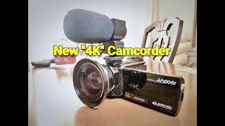 Andoer HDV-524KM 4K Camcorder Review