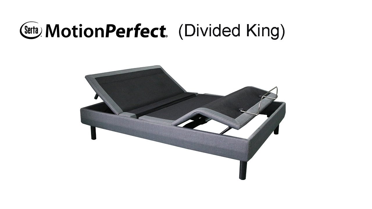 Serta Motion Perfect 4 Divided King Setup Video English Youtube