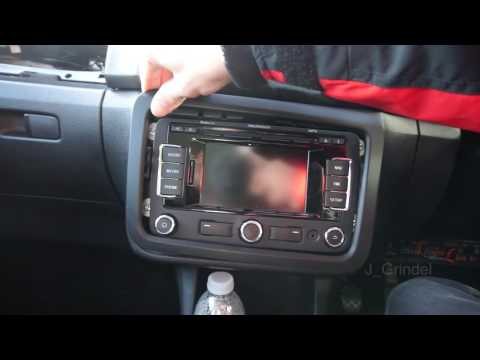 How to install RNS310 into Skoda Fabia