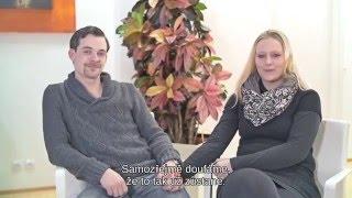 Anica a Alex - umělé oplodnění - IVF CUBE