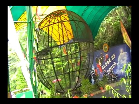 Globe Of Death Motorcycle Taman Safari Puncak Bogor Indonesia