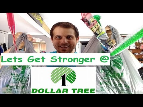 Let's Get STRONGER at The Dollar Tree! Dollar Tree Shopping Haul Toys Games Sports Food