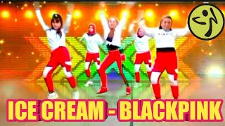 ICE CREAM - BLACKPINK ft SELENA GOMEZ - ZUMBA